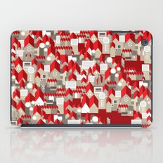 red roofs iPad Case