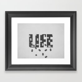 Lets Play a Game Framed Art Print