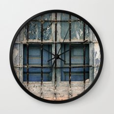 Cristales rotos Wall Clock