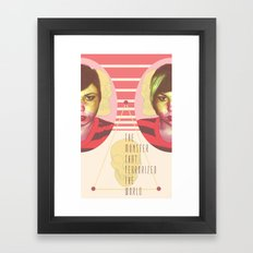 The Horror Enthusiast Framed Art Print