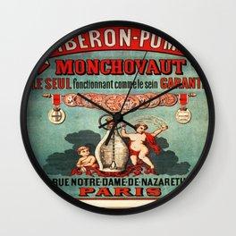 Vintage poster - Biberon-Pompe Wall Clock