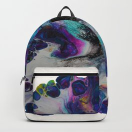 Galaxy Flower - off white Backpack