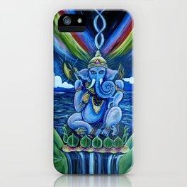 Rainbow Ganesh iPhone Case
