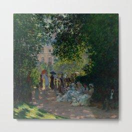"""Claude Monet """"The Parc Monceau"""" Metal Print"""