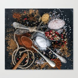Wishing You a Spicy New year! Canvas Print