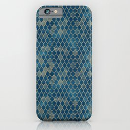 Blue Moroccan iPhone Case