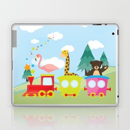 Animals Train , Nursery decor Laptop & iPad Skin