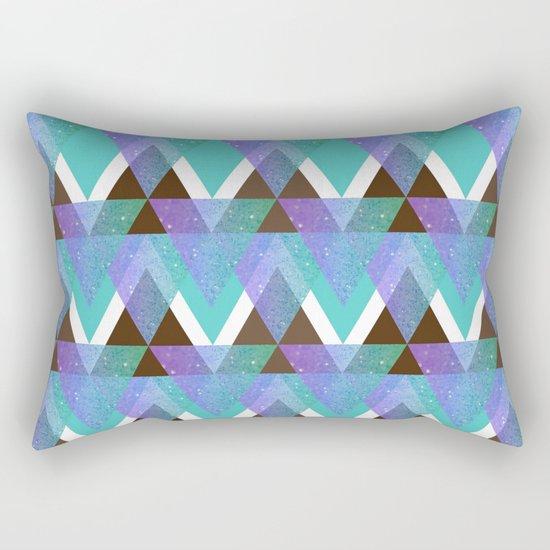 GlitterTriangles Rectangular Pillow
