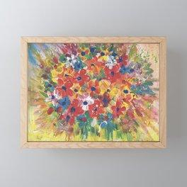 Flower Power Framed Mini Art Print