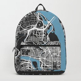 WASHINGTON DC City Map   US   Black   More Colors, Review My Collections Backpack