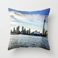 toronto Throw Pillows featuring Toronto by S.YassinPhotography