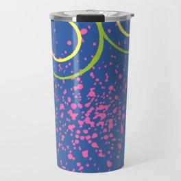 Star Cluster Blue Travel Mug