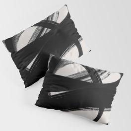 Abstract Brush Strokes 5 Pillow Sham