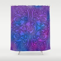 maori Shower Curtains featuring Maori/Polynesian Style by Lonica Photography & Poly Designs