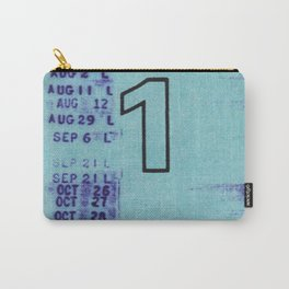 Ilium Public Library Card No. 1 Carry-All Pouch