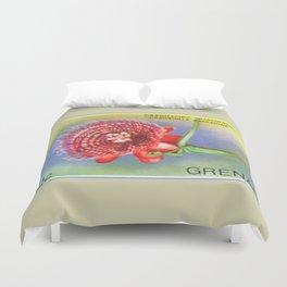 Passiflora Quadrangularis Duvet Cover