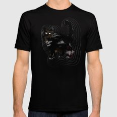 I am a smiling person Black MEDIUM Mens Fitted Tee