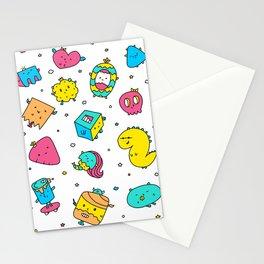 Retro 2 Pattern Stationery Cards