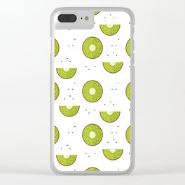 Kiwi party Clear iPhone Case