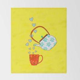 A Nice Cup Of Tea - Beverage Throw Blanket