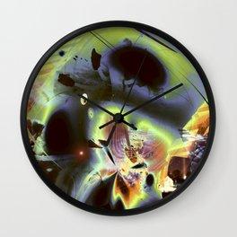 """""""Retro Moon Rising"""" Wall Clock"""