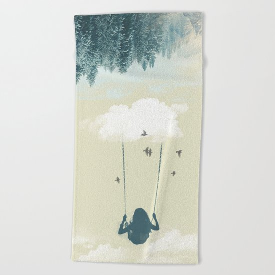 Lucy in the sky Beach Towel
