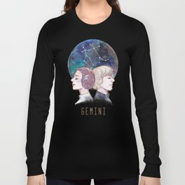 Constellations - Luke Skywalker and Leia Organa - Gemini Long Sleeve T-shirt