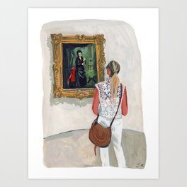 Olden Days at the Guggenheim Art Print