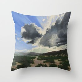 Sun break Ridge Throw Pillow