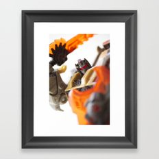 Me No Like You! Framed Art Print