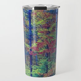 Forest - with exaggerated colors Travel Mug