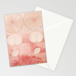 Hilma af Klint The Ten Largest No. 09 Old Age Group IV Stationery Cards