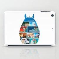 hayao miyazaki iPad Cases featuring Hayao Miayazaki Films by adovemore