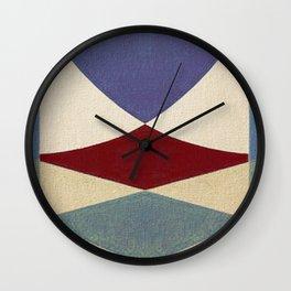 Lucha Libre Mask 4 Wall Clock