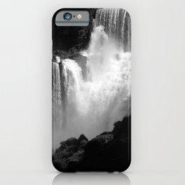 Iguazu Iguassu Waterfall Landscape Panorama Scenery, Brazil Argentina 5 bn iPhone Case