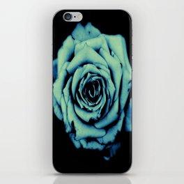 Blue Rose iPhone Skin