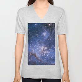 Small Magellanic Cloud Unisex V-Neck