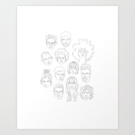we are all in this together Art Print