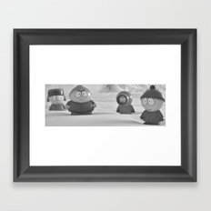 Usual Suspects - South Park Framed Art Print