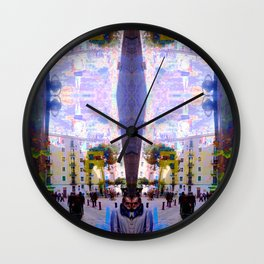 Akin to recalling, instead; understood mimicry. 02 Wall Clock