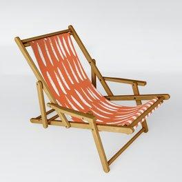 Brush Stroke Staccato Sling Chair