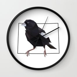 Colorado – Lark Bunting Wall Clock
