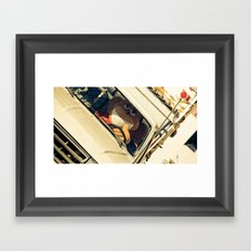 don't take life so seriously. Framed Art Print