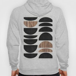 Mid-Century Modern Pattern No.7 - Concrete and Wood Hoody