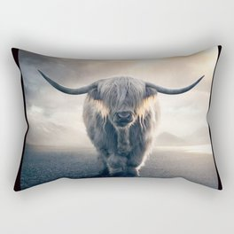 highland cattle scotland Rectangular Pillow