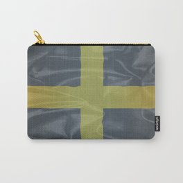Silk Flag of Saint David Of Wales Carry-All Pouch