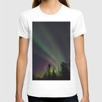 northern lights T-shirts featuring Northern Lights 3 by Pamela Barron