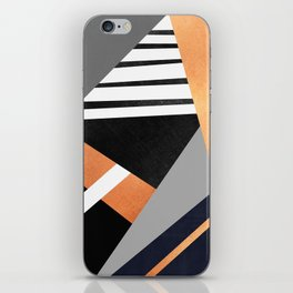 Geometric Combination V2 iPhone Skin