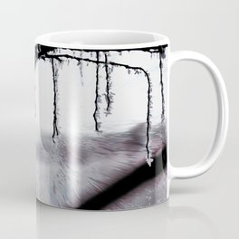Concept frozen : Ice on branches Coffee Mug