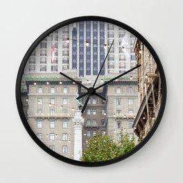 Goddess over San Francisco Wall Clock